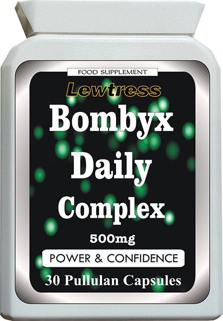Aphrodisiacs : Bombyx Daily : Bombyx Daily Complex Capsules