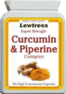 Curcumin (Turmeric) and Piperine High Strength Capsules