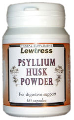 Psyllium Husk…a natural, gentle aid to your digestive health. Dieticians recommend that we should consume at least 35 grams of fibre per day in order to maintain healthy digestive regularity. To keep this digestive regularity we need to stop the build up of toxins in the digestive tract. Because Lewtress Psyllium Husk contains only pure, natural dietary fibres, these built up toxins can be easily eliminated. Lewtress Psyllium Husk is also ....